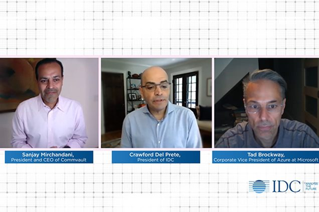 IDC Video Podcast Excerpts: A Strategic Partnership for the Journey to Cloud