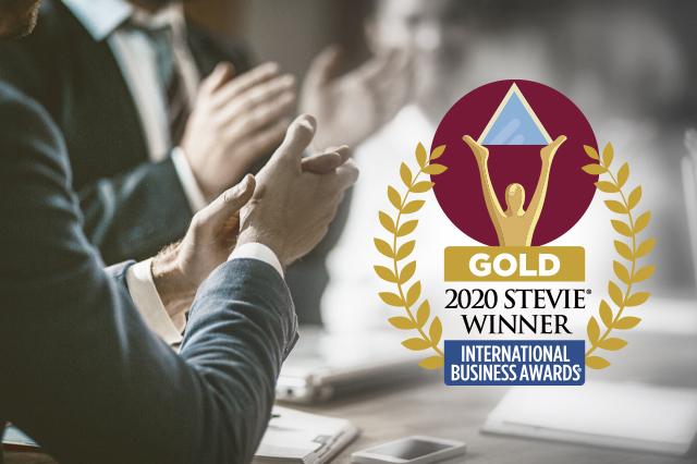 2020 Stevie Gold International Award Winner
